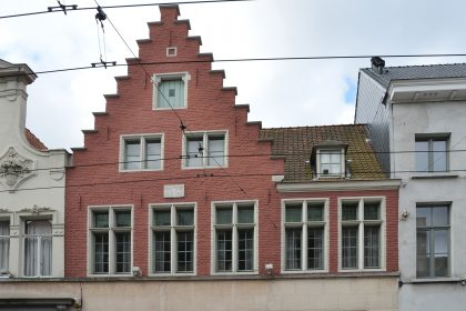 15. Foto steendam 72&74, Gent.