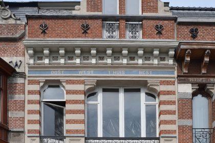 Foto Vlaamse Kaai 93-94, Gent.